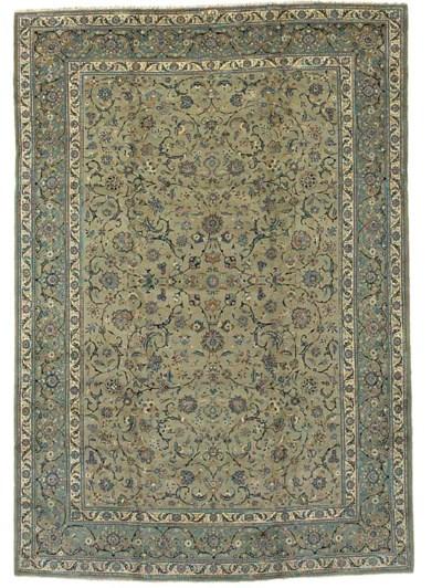 A fine Kashan Hashami carpet,