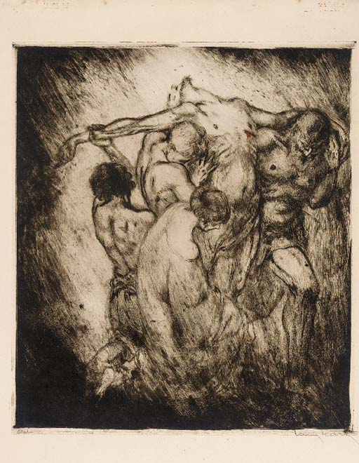An etching