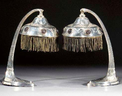 A German silvered metal adjust
