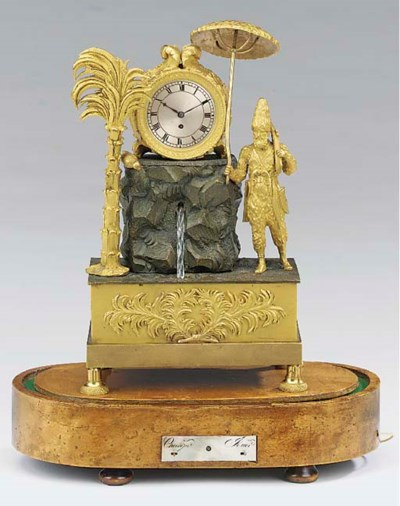 A Louis Philippe bronze and or