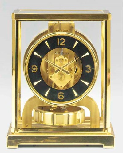 A Swiss brass Atmos clock, 197