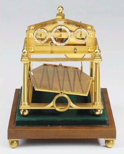 An English small brass reprodu