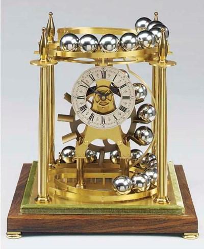 An English brass spherical wei