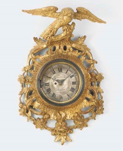A George II giltwood and gesso