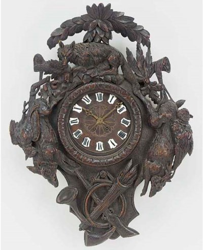 A French carved wood striking