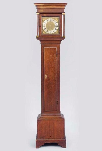 A George II oak thirty-hour lo