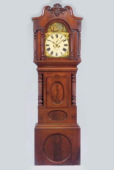 A Victorian Welsh mahogany lon