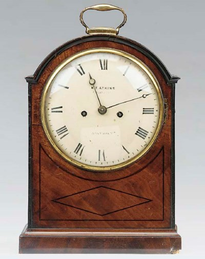 A Regency mahogany and ebony i
