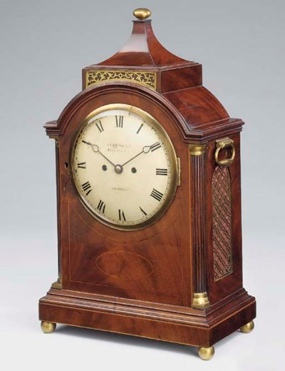 A Regency mahogany, satinwood
