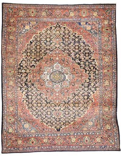 A fine Lilihan carpet, West Pe