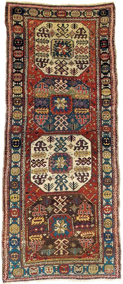 An antique Chajli rug, South C
