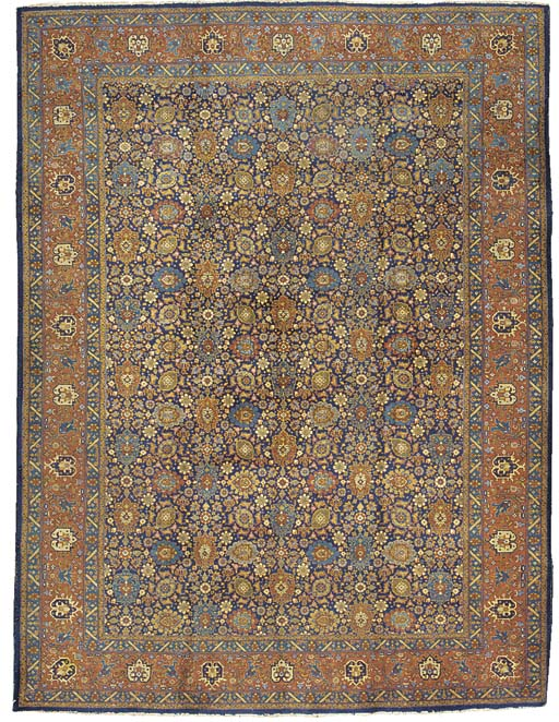 A fine Tabriz carpet, North-West Persia