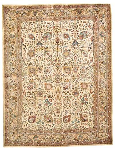 A fine Assadi Tabriz carpet, N