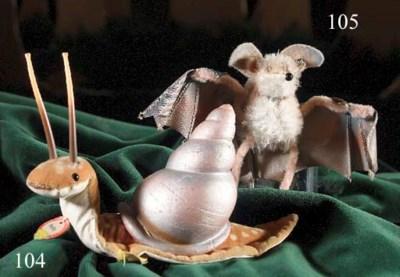 A Steiff Nelly snail