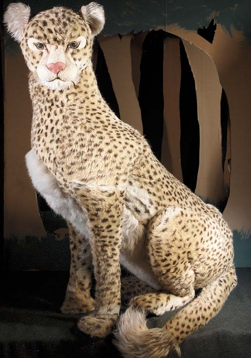 An Aux Nations life-size Cheet