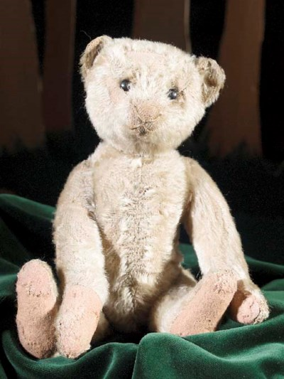 A rare Bing teddy bear