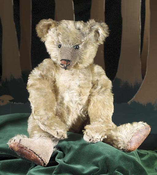 A Bing teddy bear
