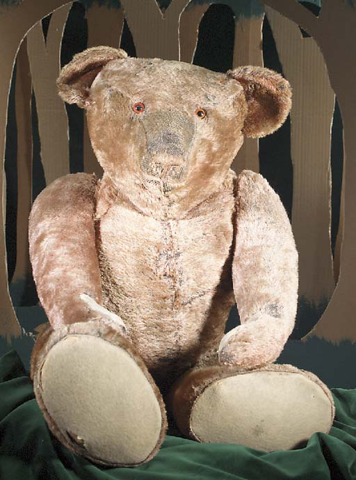 A large teddy bear