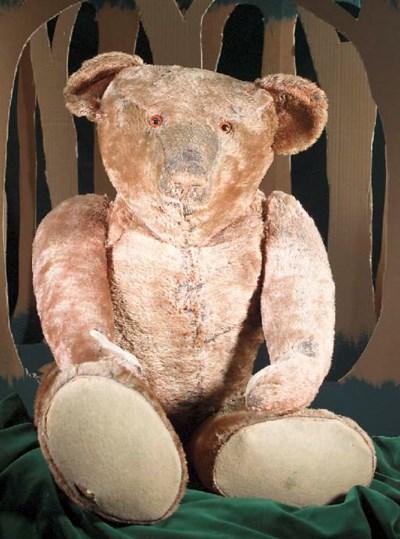 A large teddy bear