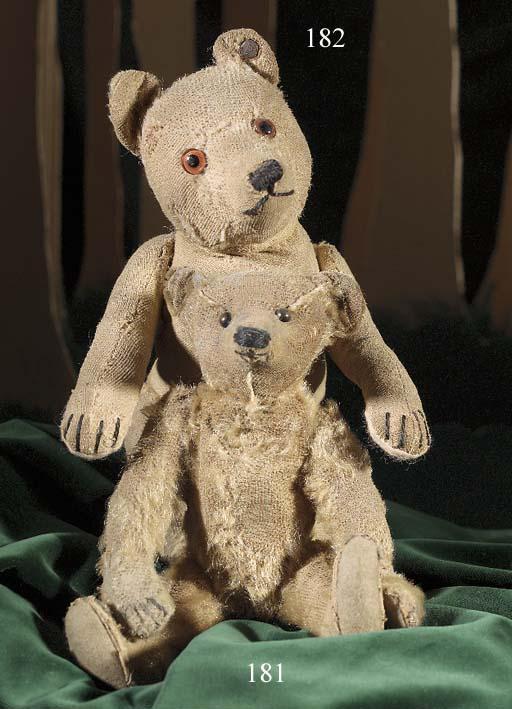 A Steiff teddy baby with close