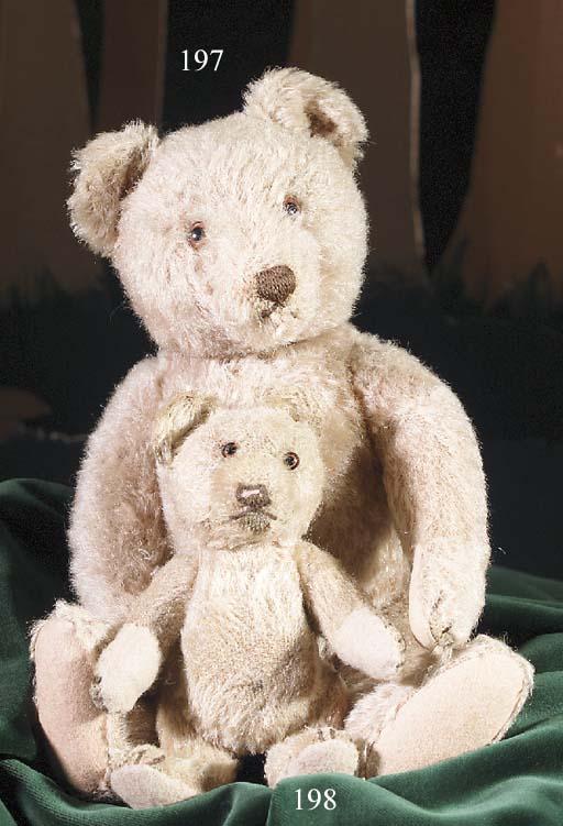 A Steiff Jackie teddy bear