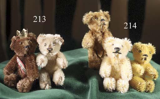 A Schuco miniature teddy bear