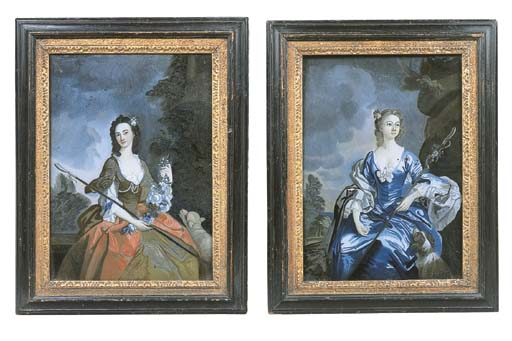A pair of George III reverse g