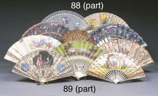 A collection of Oriental fans