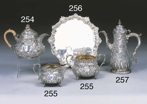 A George IV Silver Cream and S