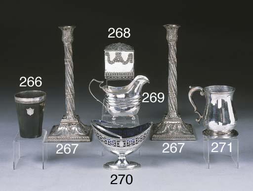A George II Silver Mug