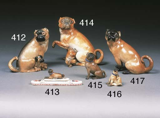 An English porcelain group of