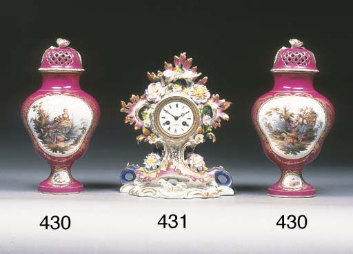 A Paris clock case