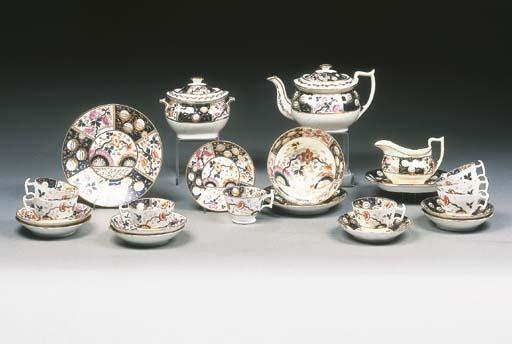 An English porcelain 'London'