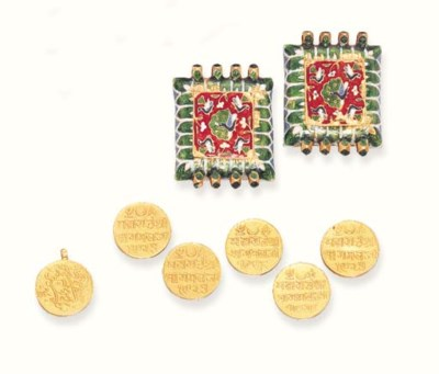 A GROUP OF INDIAN JEWELLERY AN