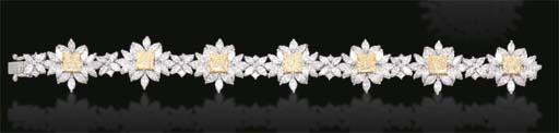 A YELLOW DIAMOND AND DIAMOND B
