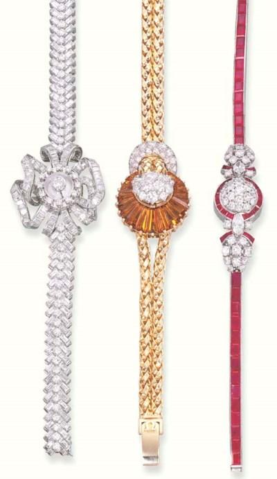 THREE DIAMOND, RUBY AND CITRIN