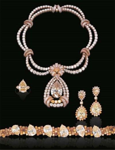 A SPECTACULAR SUITE OF DIAMOND