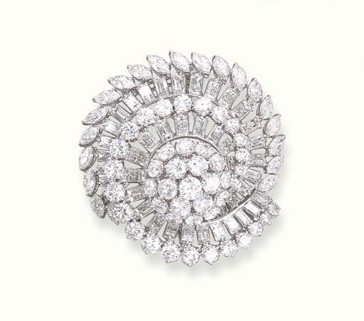 AN ELEGANT DIAMOND TOURBILLON