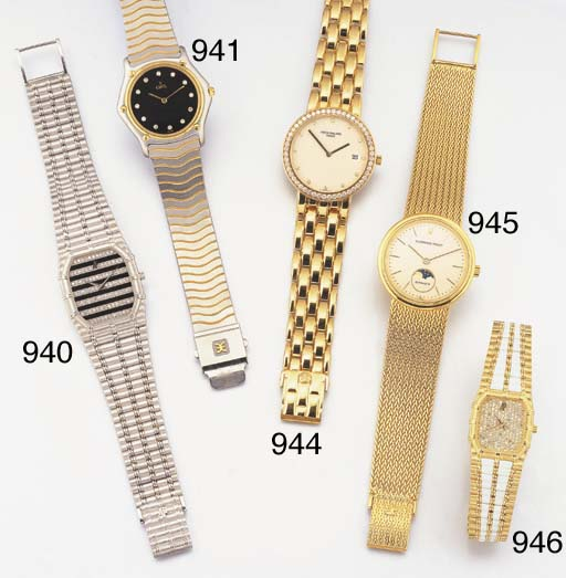 EBEL. A STAINLESS STEEL, GOLD