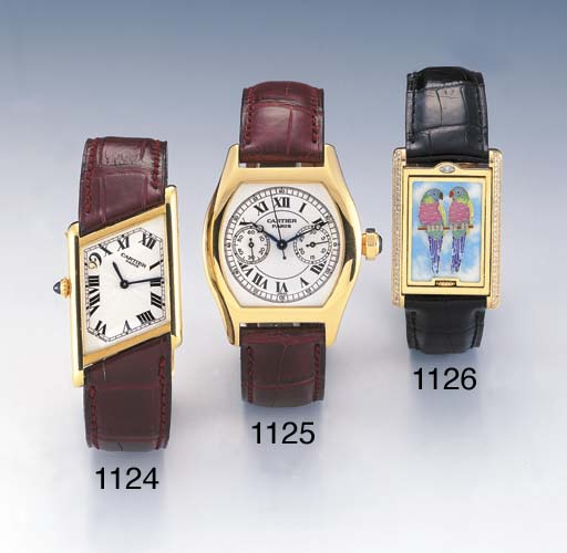 CARTIER. A LIMITED EDITION 18K