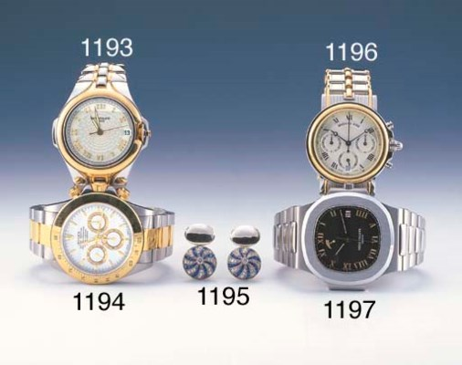 BREGUET. A STAINLESS STEEL AND