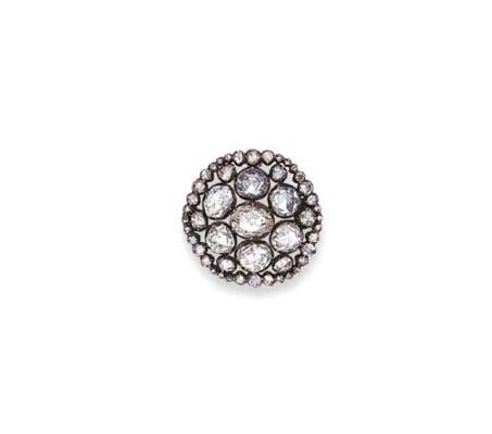 AN ANTIQUE DIAMOND PENDANT/BRO