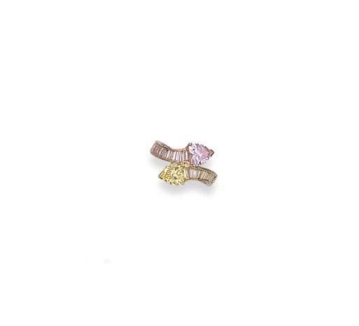 A COLOURED DIAMOND CROSSOVER R