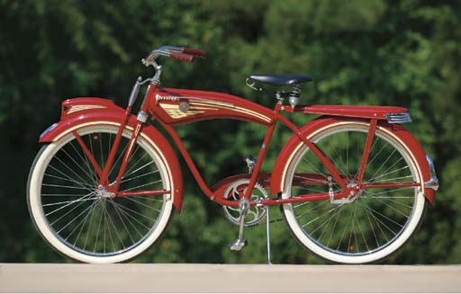 A Firestone Super Deluxe Bicycle By Monark Christie S