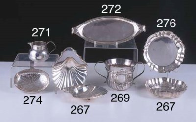 A GEORGE II STERLING SILVER CR