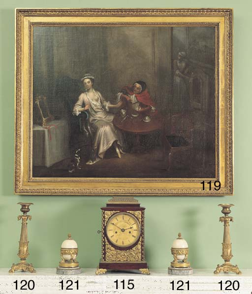 A WILLIAM IV ROSEWOOD AND ORMO