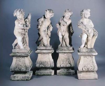 A SET OF FOUR ITALIAN COMPOSIT