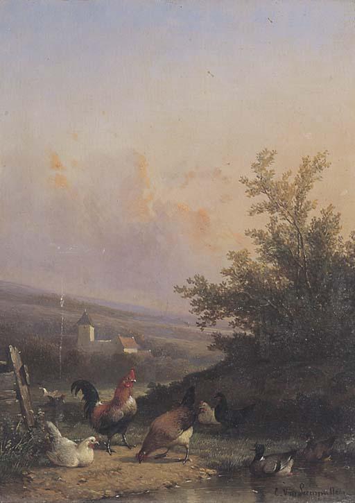 C. VAN LAMPATTEN (Dutch 19the