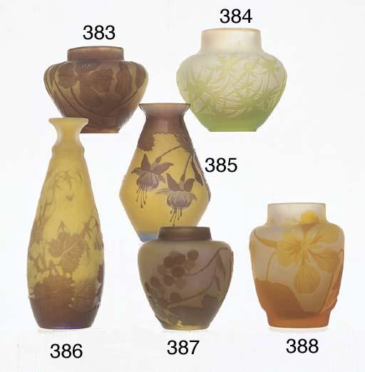 A PURPLE OVERLAID CAMEO-GLASS
