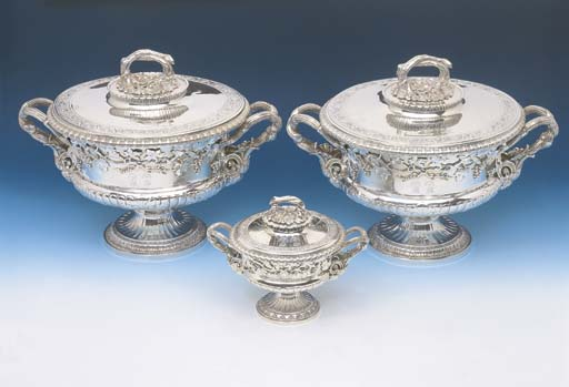 A PAIR OF GEORGE IV STERLING S
